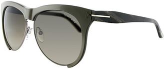Tom Ford Unisex Leona 59Mm Sunglasses