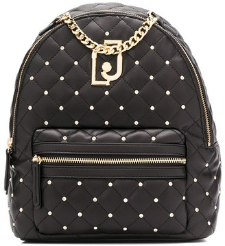 Liu Jo Quilted Logo Backpack