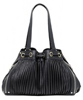 Poppy Pleated Leather Bag