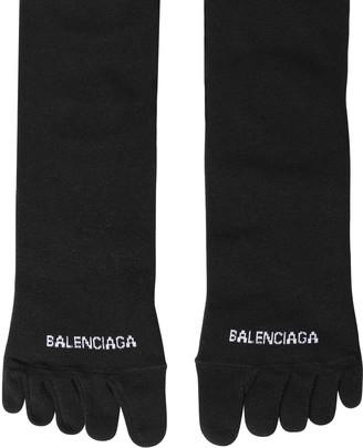 Balenciaga Vibram Logo Knit Toe Socks