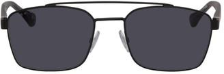 BOSS Black Matte Metal Sunglasses
