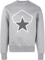 Moncler star print sweatshirt - men - Cotton - M