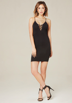 Bebe Donna Ribbed Dress