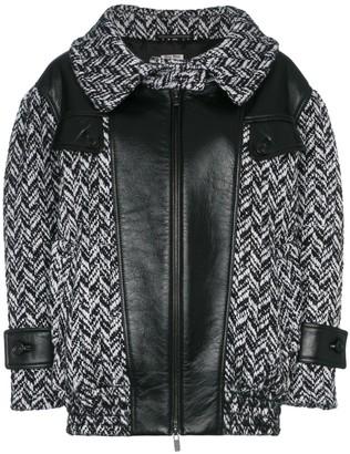 Miu Miu Oversized Tweed Coat