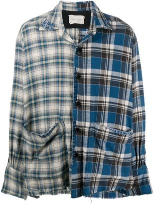 Greg Lauren Box Split shirt