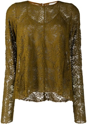 Forte Forte Layered Lace Blouse