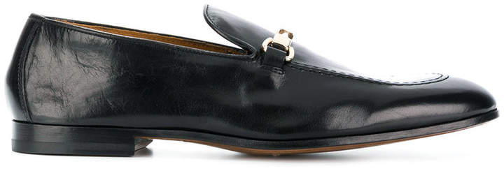 Doucal's distressed loafers