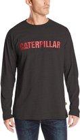 Caterpillar Men's Stand-Out Trademark Long Sleeve Tee