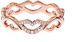 RAPHAELE CANOT Keep Smiling diamond & pink-gold ring