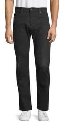 Diesel Distressed Straight Jeans