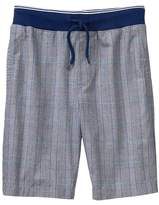 Crazy 8 Plaid Pull-On Shorts
