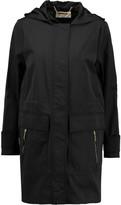MICHAEL Michael Kors Cotton-blend shell hooded coat