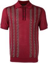 Prada knitted polo shirt - men - Silk/Cotton/Virgin Wool - 48