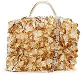 La Perla Bags Embellished Leather Box Clutch