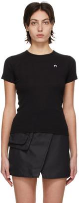 Marine Serre Black Minifit Moon T-Shirt
