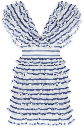 Philosophy di Lorenzo Serafini V-Neck Mini Dress
