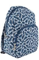 Travelon Anti-Theft Cotton Backpack - Woven Flower