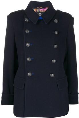 Etro Short Double-Breasted Coat