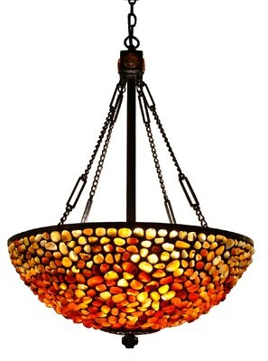 St Nicholas August Grove 3-Light Bowl Pendant August Grove
