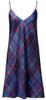 Tommy Hilfiger Tommy x Gigi Star-Plaid Silk Slip