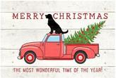 "Bungalow Flooring Down Home Truck Christmas Mat - 23"" x 36"""
