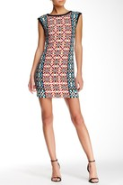 Muse Multi Print Shift Dress M3273M