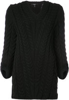 Derek Lam V-Neck Cable Knit Sweater