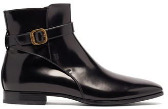 Tod's Janeiro Buckle-strap Leather Boots - Black