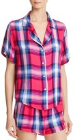Rails Plaid Sleep Shirt and Shorts Pajama Set