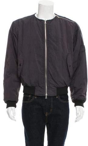 Dries Van Noten 2014 Zip Padded Bomber Jacket