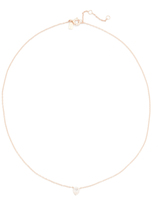 Ef Collection Diamond Teardrop Choker Necklace