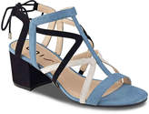 Unisa Women's Esta Sandal -Blue/Black/White