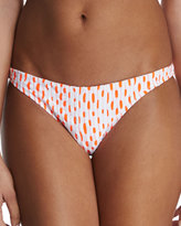 Milly Jacquard-Print Swim Bottom