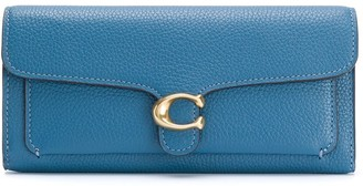 Coach Tabby pebbled-effect wallet