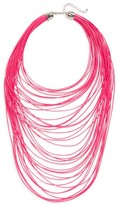 Topshop Women's Multistrand Cord Necklace