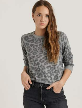 Lucky Brand Leopard Pullover
