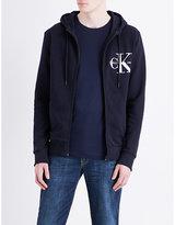 Calvin Klein Logo-print Cotton-jersey Hoody