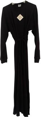 Base Range Black Cotton Dresses