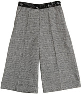 Ermanno Scervino Woven Tweed Cotton Pants