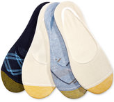 Gold Toe Women's 4-Pk. Plaid Fashion Invisible Socks