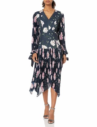 Keepsake Women's Nobody Floral Pleated Midi Dress