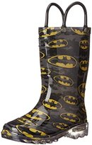 Western Chief Batman Signal Light-Up Boot(Toddler/Little Kid/Big Kid)