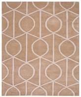 """Jaipur City Area Rug - Incense/Pebble Geometric Ovals, 3'6"""" x 5'6"""""""
