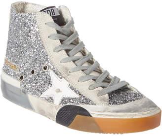 Golden Goose Francy Glitter & Suede Sneaker