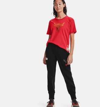 Under Armour Women's Project Rock CNY Charged Cotton Fleece Pants