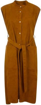 MACKINTOSH Sleeveless Belted Dress