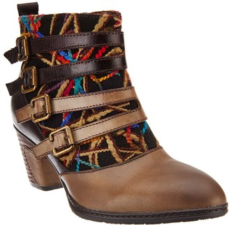 Spring Step L'Artiste Leather Ankle Boots - Redding