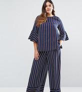 Lovedrobe Co-Ord Striped Wide Leg Trousers