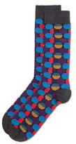 Ted Baker Mixspot Multi Colored Spot Socks