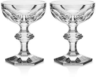 Baccarat Harcourt 1841 Coupe, Set of 2